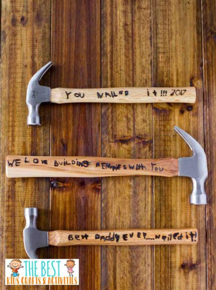DIY Engraved Hammer