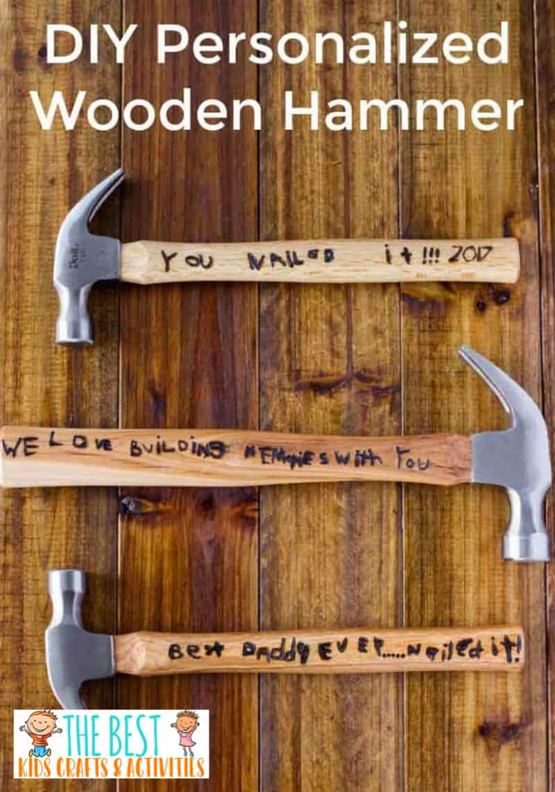 DIY Personalized Day Hammer