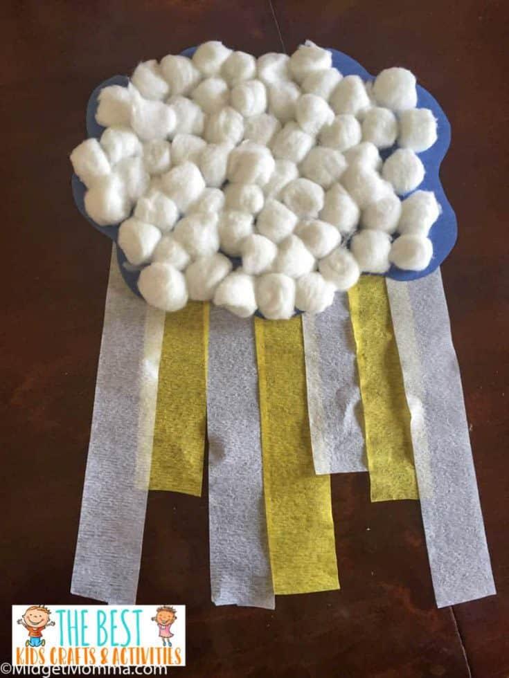 Rain Cloud Paper Craft