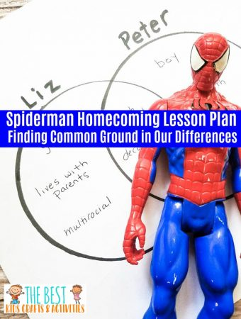Spiderman Homecoming Lesson Plan