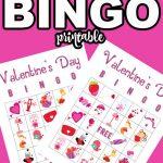 Valentine's Day bingo game Printable