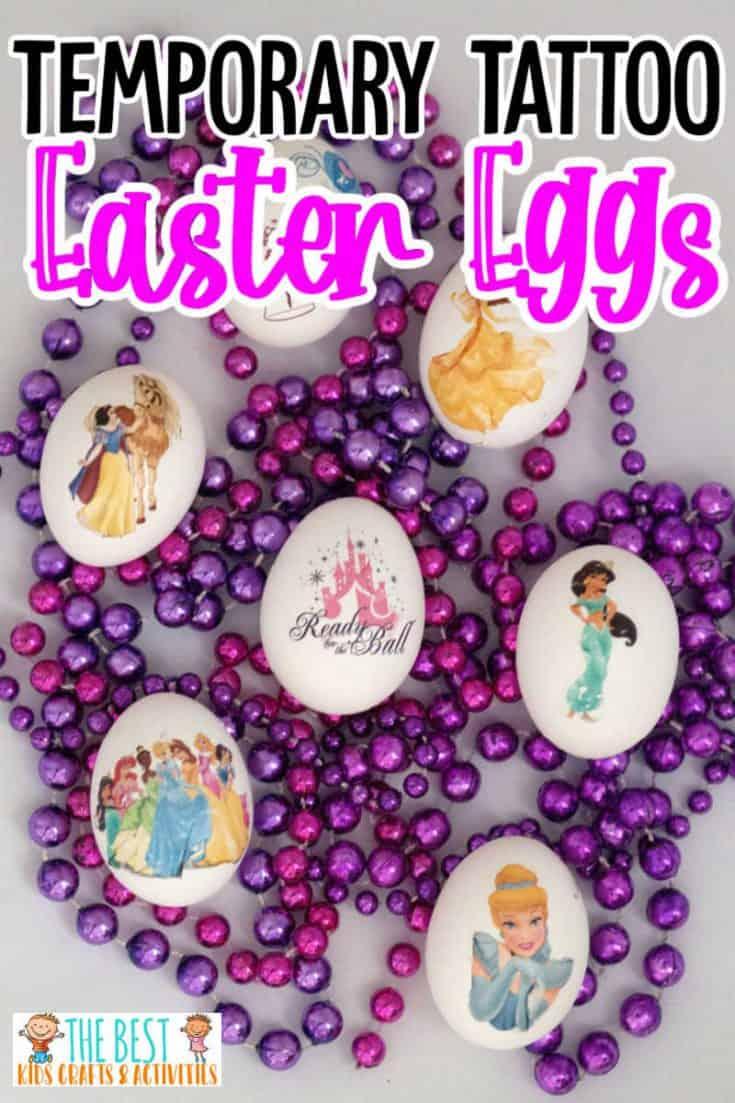 temporary tattoo Easter Eggs
