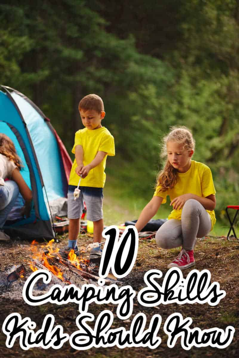 Camping Skills for Kids