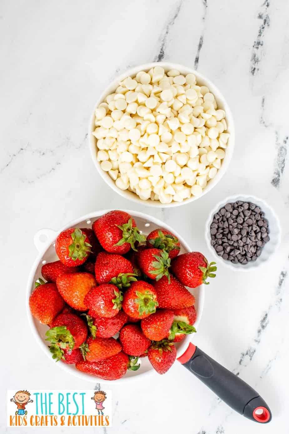 Ghost Strawberries ingredients