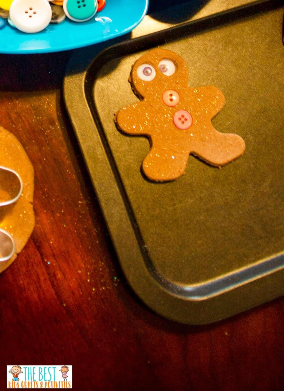 Gingerbread Scented Playdough recipe