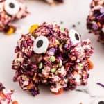 monster marshmallow Popcorn Balls
