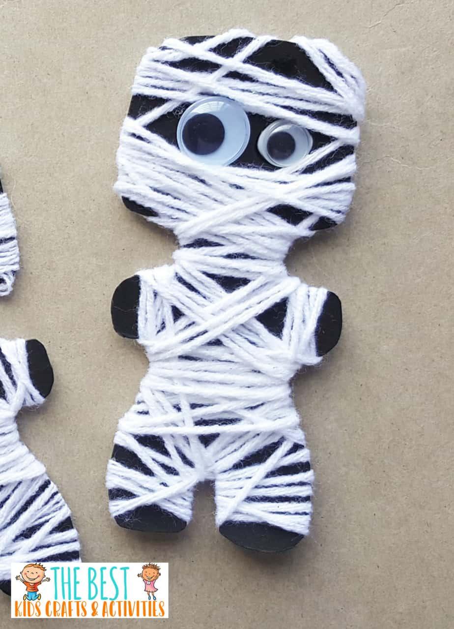 Mummy paper craft