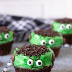 Frakenstein Cupcakes